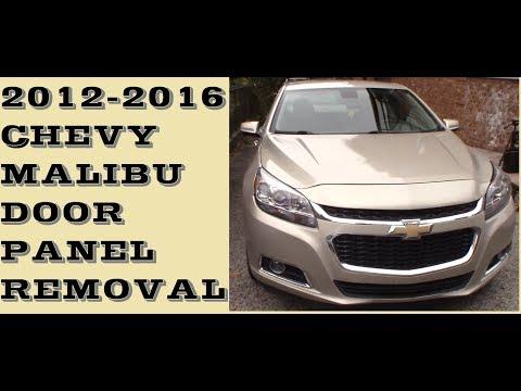 How To Remove Door Panel In 2012 2016 Chevrolet Malibu Youtube