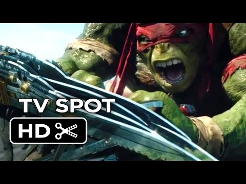 Teenage Mutant Ninja Turtles TV SPOT - Stay Hidden (2014) - Live-Action Ninja Turtle Movie HD