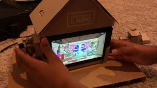 Nintendo Labo Toy-Con House Build Review & Gameplay