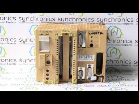 Siemens - CPU MODULE S5-95U COMPACT UNIT 6ES5-095-8MA03  Repaired at Synchronics