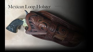 1880's Mexican Loop Holster