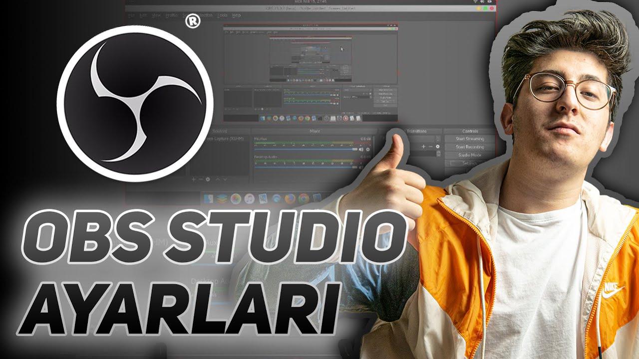 En Doğru OBS Studio AYARLARI ile Ekran Videosu Çekme