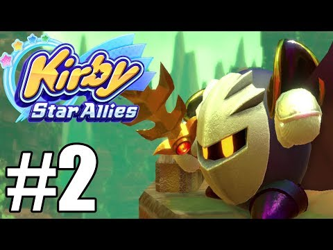 Kirby Star Allies Gameplay Walkthrough Part 2 - World 2 No Commentary