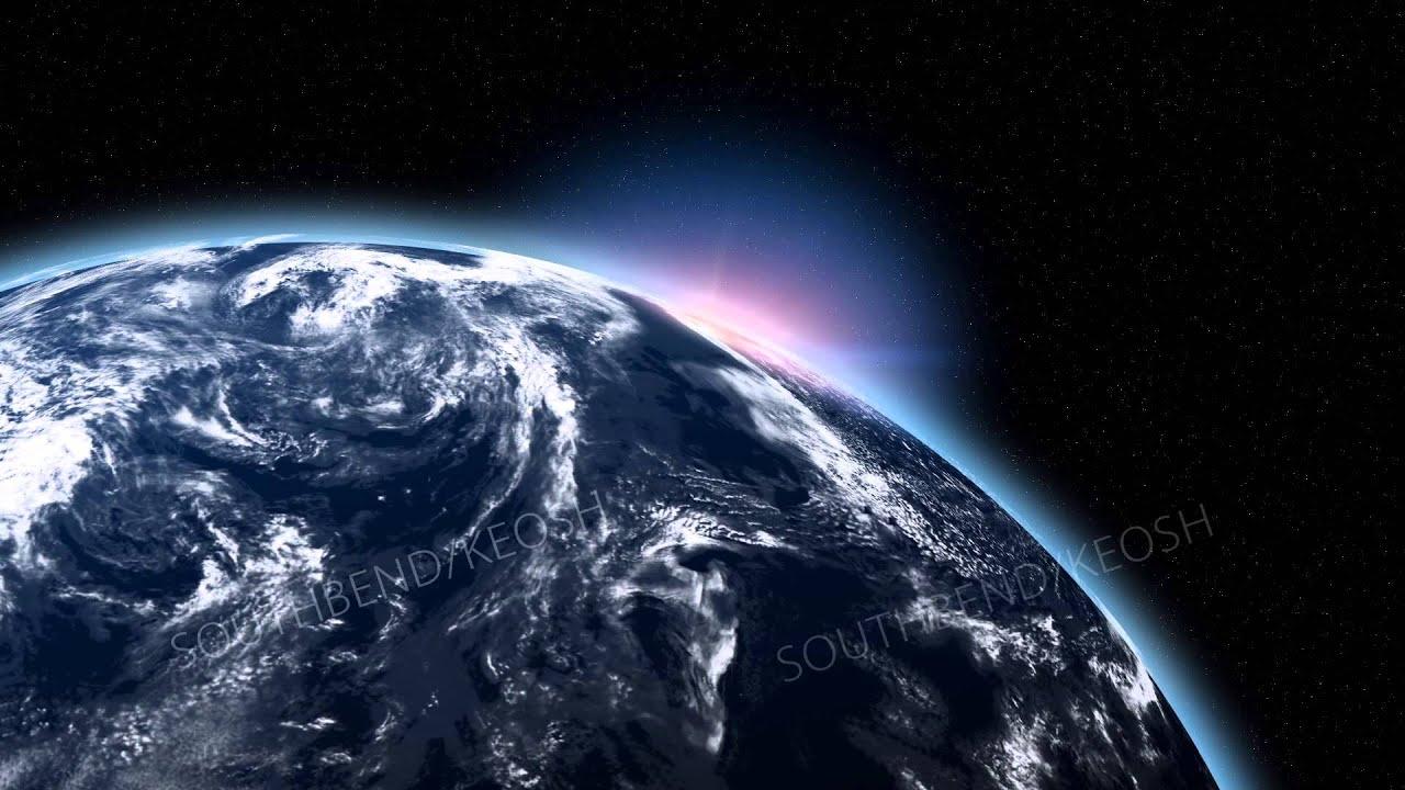 映像CG素材 動画素材 HD 宇宙 地球 太陽