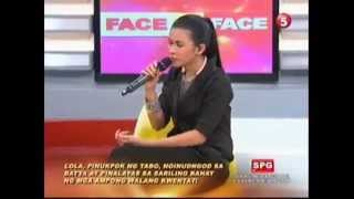 Face To Face TV5 October 22, 2012 Part 2