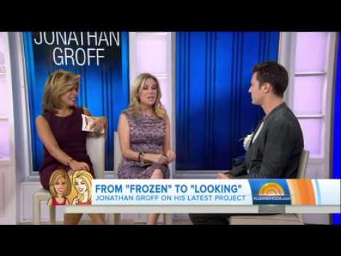 Jonathan Groff on Today Show
