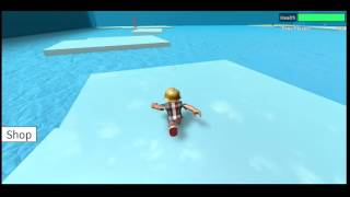 Speed Run 4 Roblox Ice and Penguins Level beaten on FIRST TRY Xbox One Gameplay