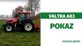Valtra A83 z kosiarką Unia Alka L | AGROLMET Gniewkowo