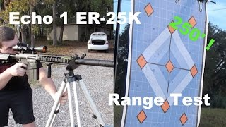 250' Airsoft DMR/Sniper: Echo 1 ER25K Range Test and Review