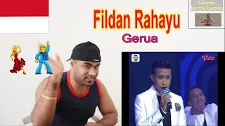 Fildan, Bau Bau - Gerua (D'Academy 4 Konser Final Top 4 Show) |Reaction |Aalu Fries