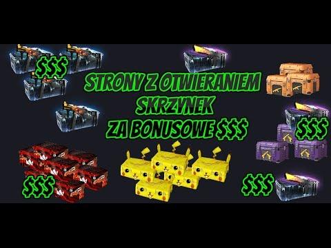 Strony z otwieraniem skrzynek za bonusowe $$$ (free) /ruletki/jackpoty +giveaway