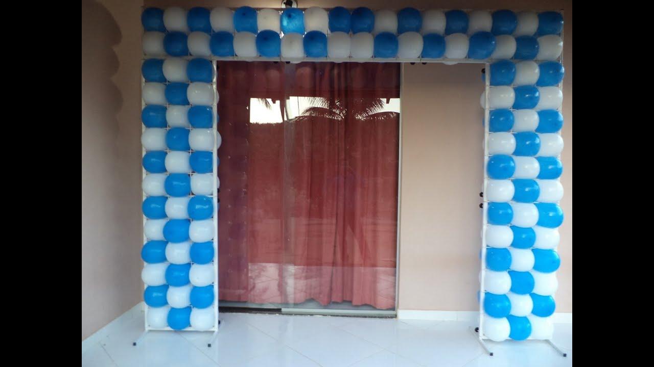 Suporte desmontavel de tela para baloes festas eventos - Telas para decorar ...