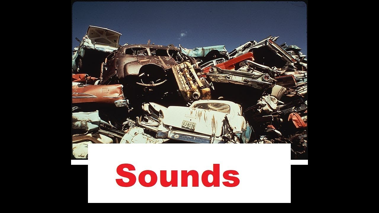Junk Crash Sound Effects All Sounds - YouTube
