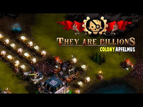 Colony Apfelmus #1 on 100% | They Are Billions Let's Play Gameplay PC | E01