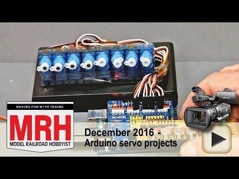 Arduino servo projects demo | Model railroad tips | Model Railroad Hobbyist | MRH