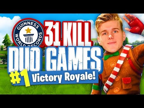 WORLDS MOST KILLS IN DUOS  - 31 Kills (Fortnite Battle Royale)