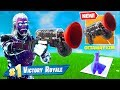 *NEW* GRAPPLER GUN + Getaway LTM Early Gameplay In Fortnite Battle Royale!