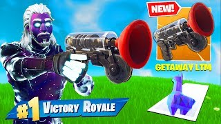 'NOUVEAU' GRAPPLER GUN - Getaway LTM Early Gameplay In Fortnite Battle Royale!