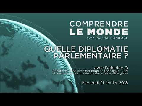 """Comprendre le monde #22 - Invité Delphine O - """"Quelle diplomatie parlementaire ?"""""""