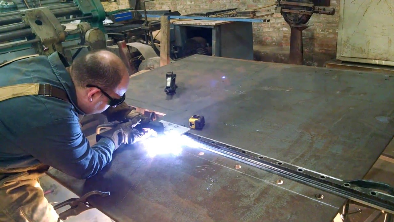 Homemade Plasma Cutter Track 11ft Long Youtube