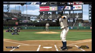 MLB 10: The Show (Rangers @ Mariners) 1st Inning