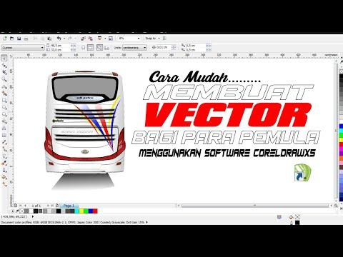 Tutorial Membuat Vector Di Corel Draw X5 SD