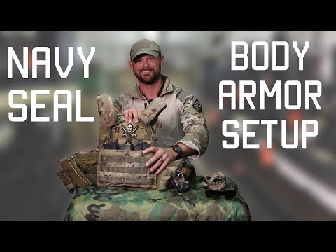 How a Navy SEAL sets up his Body Armor | Navy SEAL Technique