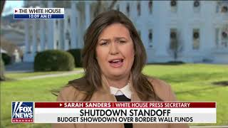 Sarah Sanders reacts to Flynn sentencing, Comey