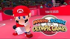 Mario and Sonic at the Olympic Games Tokyo 2020 - Tables Tennis (Very Hard)