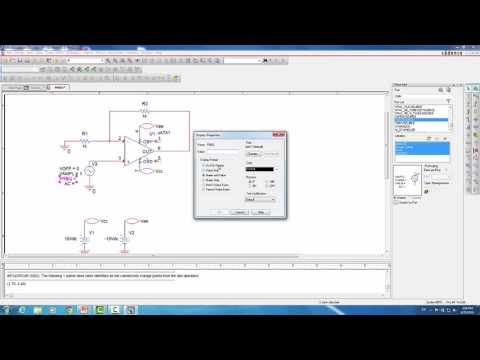 ORCAD Tutorial Part Two: Op-Amps