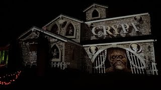 Halloween House Projection 2019