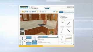 3D — Расставляем кухню