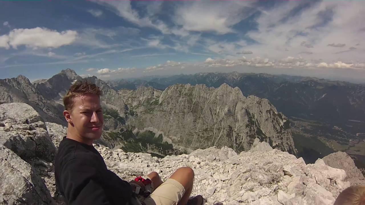 Klettersteig Ferrata : Klettersteig punta anna via ferrata olivieri alpinschule
