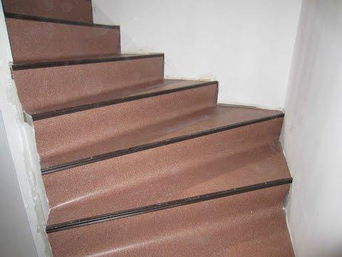 Чем покрыть ступени лестницы