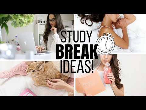10 MUST-TRY Study Break Ideas To Boost Productivity! | Study With Jess