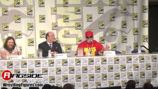 Mattel WWE Entire Panel! - SDCC 2014