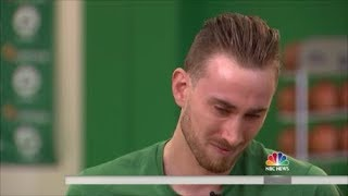 Gordon Hayward Talks About Injury... (very sad)