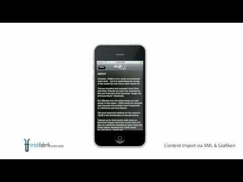 trickfabrik - custom media Artist & Label App Showreel