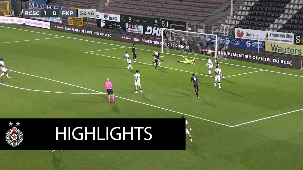 Pregled meča 3. kola kvalifikacija za Ligu Evrope Šarlroa - Partizan 2:1