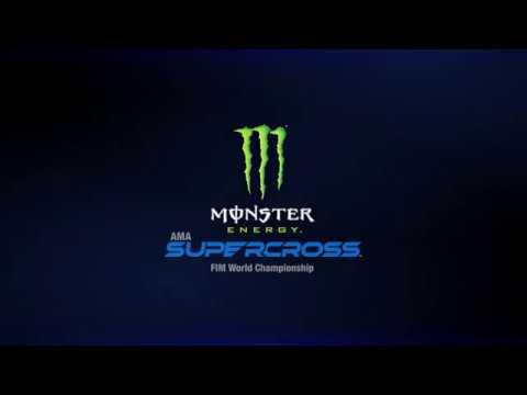 ALL-NEW Monster Energy Supercross logo revealed! - YouTube  Monster
