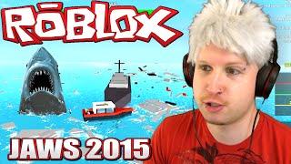 Scythe spielt Roblox - JAWS THE PEACEFUL SHARK!