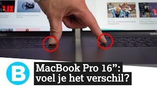Nieuwe 16 inch MacBook Pro: eindelijk een beter toetsenbord!