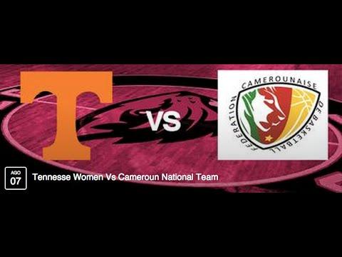CBT Tour Tennesse Women Vs Cameroun National Team