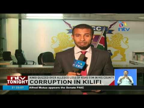 Corruption in Kilifi: Governor Amason Kingi questioned all day long at EACC