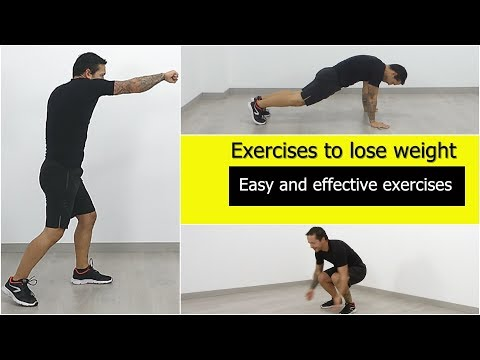 Easy exercises for weight loss at home