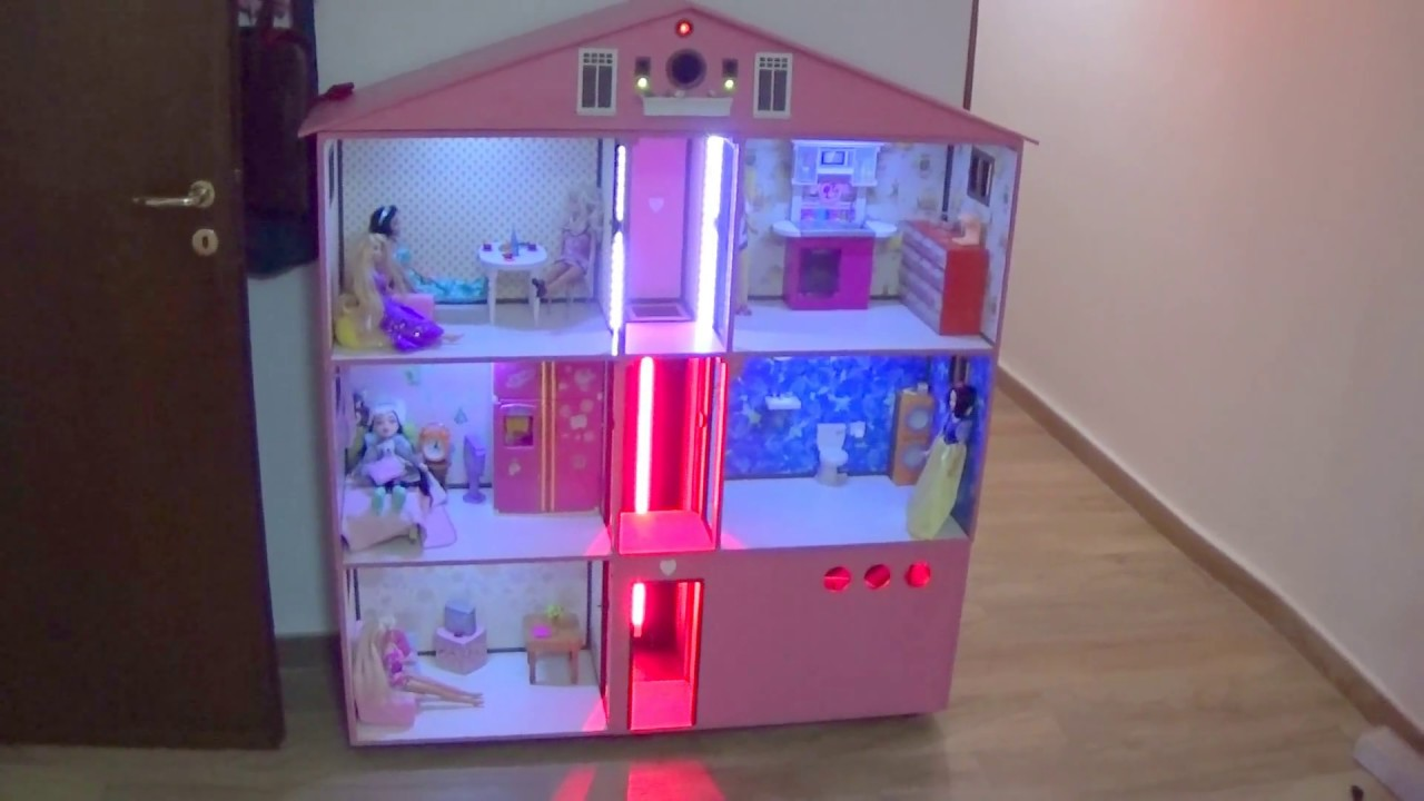 Casa di barbie fai da te youtube for Disegni personalizzati per la casa