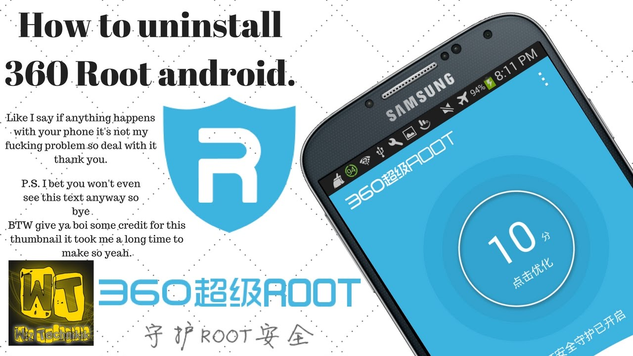 (UPDATE) How to uninstall root [360 Root] (Android)