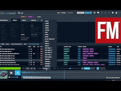 Getting the most out of Loopcloud 2.0 from Loopmasters – hands-on
