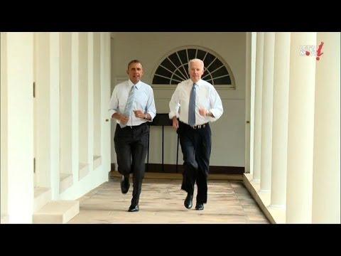Obama Et Biden Bougent Leurs Corps Pour Michelle Obama
