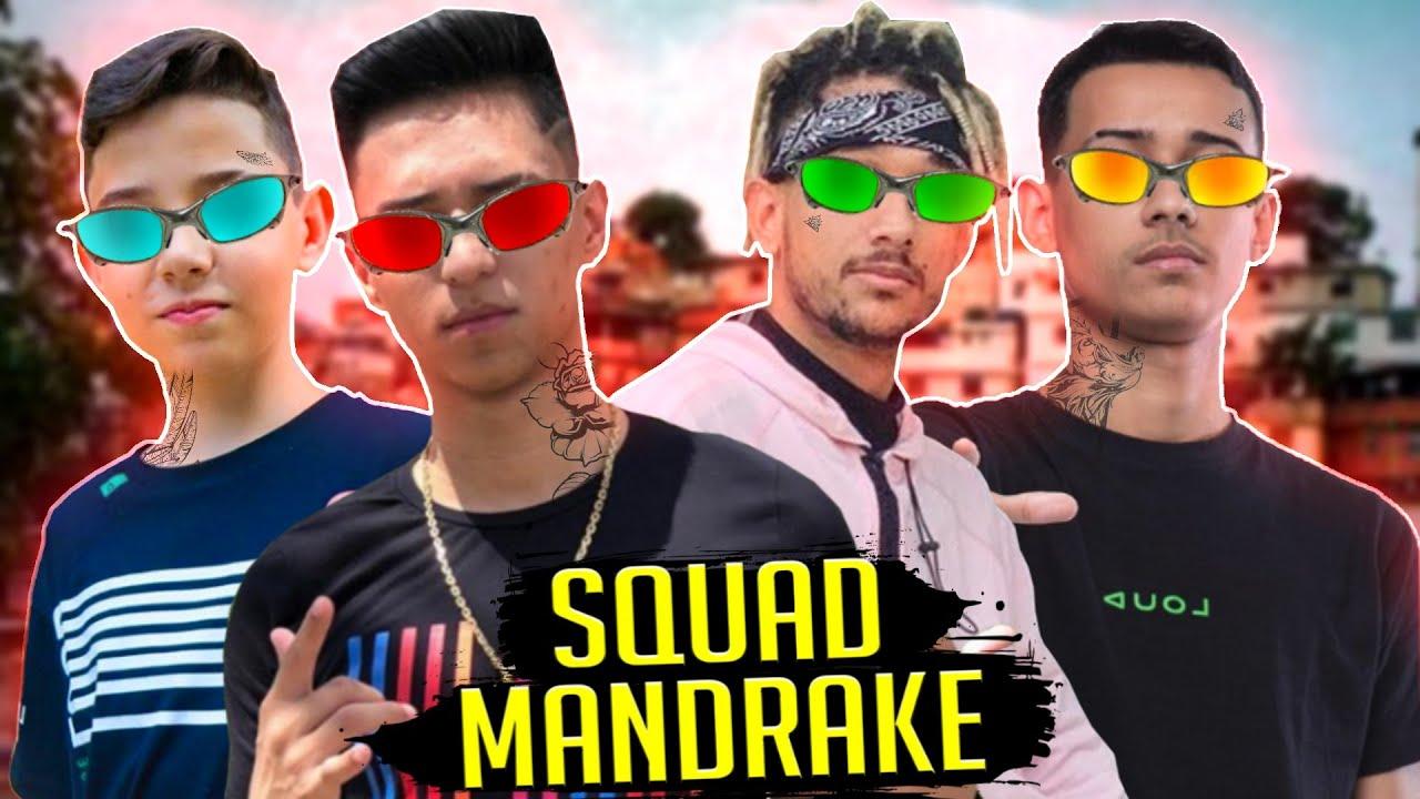 ♫ CASAL MANDRAKE ♫ FREE FIRE - SQUAD MANDRAKE ♫ ( Paródia ) MC Dricka e MC Paulin da Capital
